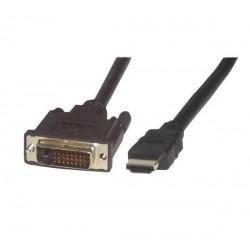 Cable DVI mâle / mâle